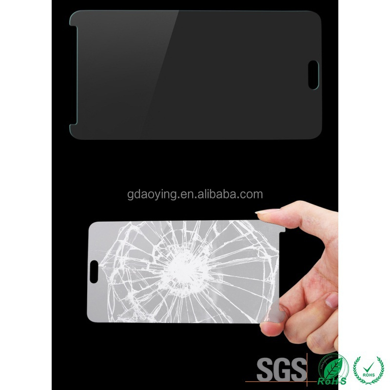 tempered glass mobile phone screen protector for samsung 2.5D