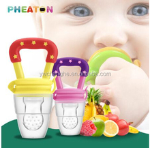 PF001 ZheJiang ChangHe Manufacturer BPA Free Silicone Fruits and Vegetables Fresh Food Feeder Baby