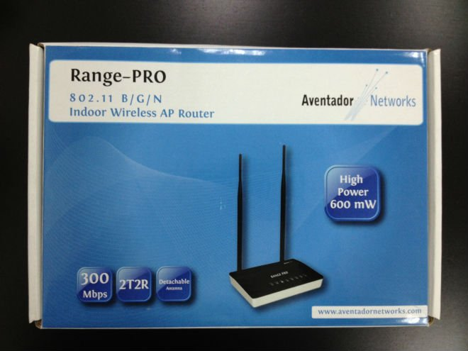 Range-PRO Indoor wireless AP router (Aventador Networks)