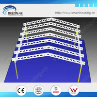 Light Steel frame steel frame carport design