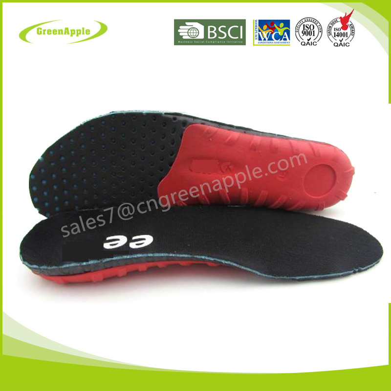 Hard Plastic Arch Pain Relief Custom Orthotics Prosthetics Eva Shoe Insole for Flat Feet