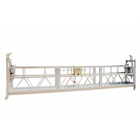 8.3m/min Lifting speed ZLP800 Steel / aluminum Suspended Working Platform