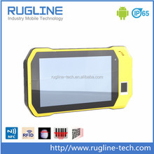7 Inch Quad Core Rugged Android Fingerprint Scanner Tablet PC with RFID reader