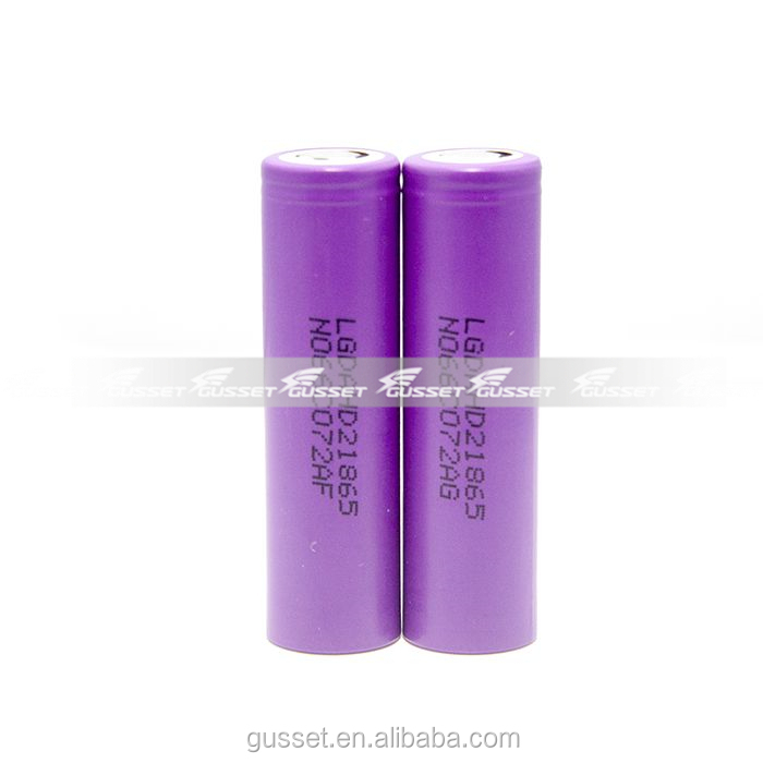 Original authentic LG HD2 2000mAh 3.7V icr 18650 rechargeable li-ion battery