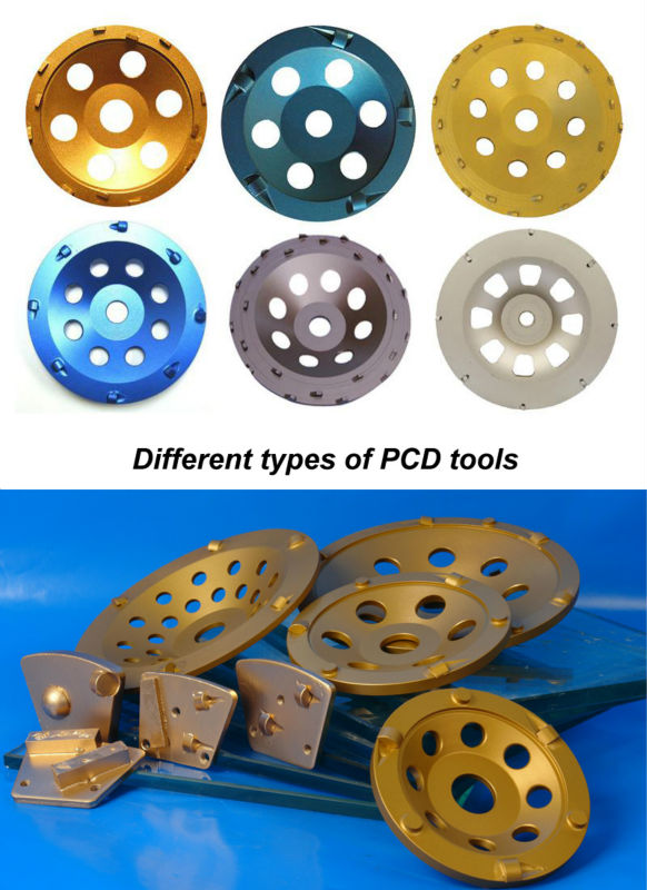Welded PCD Grinding Cup Wheel for Concrete