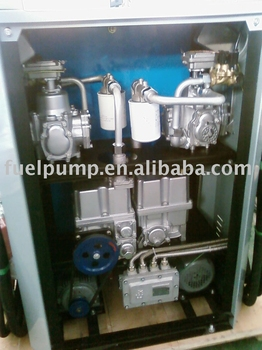 Gear Pump With Flow Meter With Filter Etc Inside Fuel