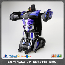 Battery Operated Toy Robot 5 Channels Car Transform Robot Toy