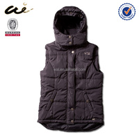 round back hem men clothing Popular 2015 new Men's down vest;mens work vest