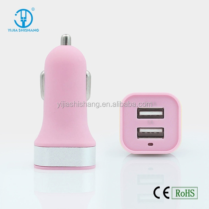 High speed Electric Dual ports USB car charger