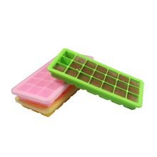 FDA Food Grade Custom Cube Silicone Ice Cube Mold Silicone Ice Cube Tray With Lid