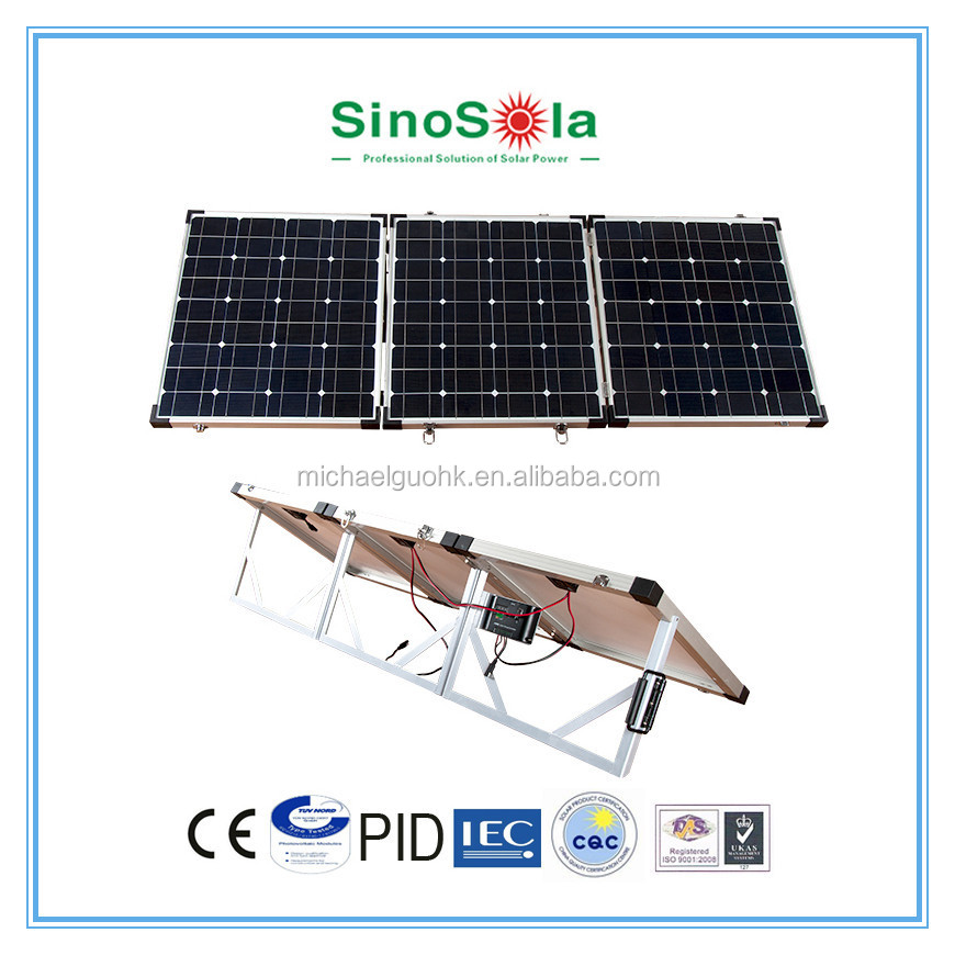 Portable 200w folding solar panel for camping,outdoor use