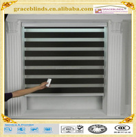 Fashion design Living room/double layerout roller blind/Wholesale ready made zebra roller blinds