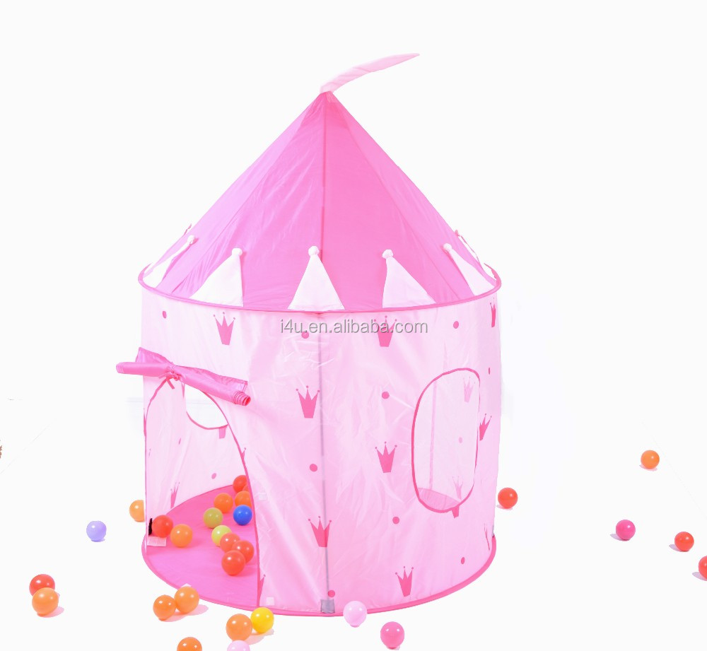 Xinyou Hut Indoor&Outdoor Girls Pink Princess Castle Fairy House Play Tents
