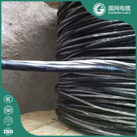 quadplex overhead cable with PE XLPE insulation