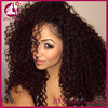 Glueless Full Lace Wig Cambodian Afro Curl Full Lace Human Hair Wigs For Black Women Lace Front Wig With Baby Hair Cosplay Wig