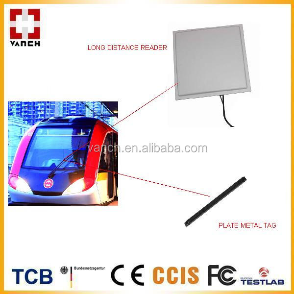 WIFI long range lector control acceso/parking barrier gate system 1~12M Integrated wi-fi UHF RFID Reader