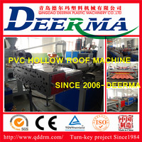 PVC roofing tile manufacturing machine / PVC roofing tile making machine with price /plastic machine for PVC roofing tile