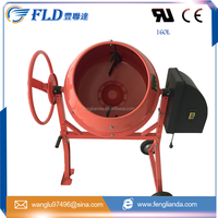 China Good Quality 160L Small Mini Portable Mobile Diesel Engine Concrete Mixer