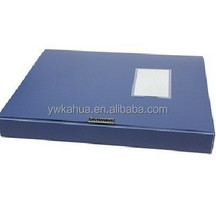 Stationary factory Plastic filecase with stick box file A4 size PP Filing file folder for office stationery