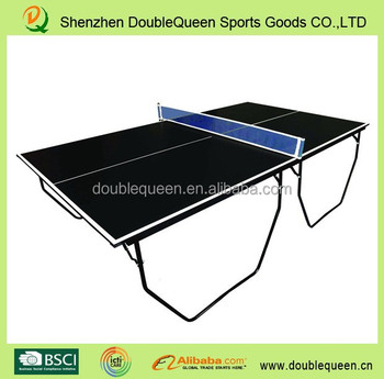16mm folding legs used table tennis tables ping pong - Folding table tennis tables for sale ...