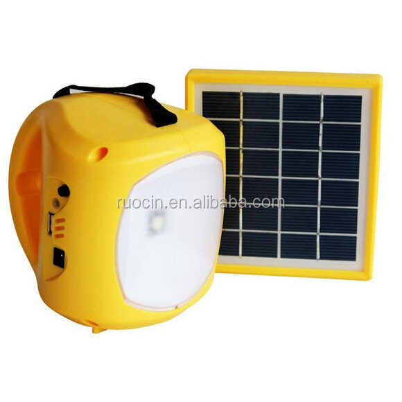 2015 newes product Nepal earthquake Solar power charged LED emergency lights