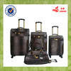 Brown Four Wheel Africa Hotsale Luggage Bag Travel Suitcase With Duffel Bag
