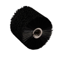 Mulitifunctional hard nylon bristle spiral cleaning brush round brushes