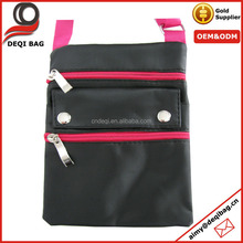 Multifunctional Satin Travel Pouch Fashion Passport Bag