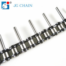 Standard industrial 40Mn steel roller conveyor chain with extended pin