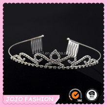 2015 new arrival princess tiara sparkling tiara and crowns for ladies
