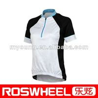 Women's short sleeve cycling wear