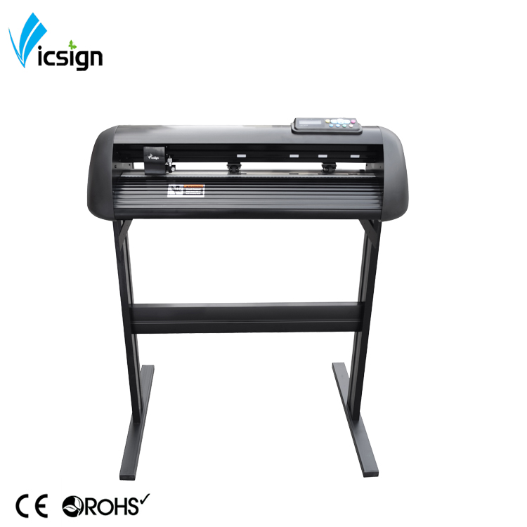 China Vicsign Hw630 720mm 24&quot; automatic contour cut reflective film CAD <strong>paper</strong> vinyl cutting plotters plotter de corte Mac OS