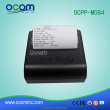 OCPP-M084: 80mm mini portable wireless mobile bluetooth bill terminal thermal receipt printer for restaurant
