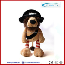 custom pirate plush toys for baby