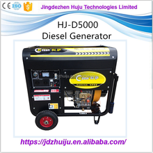 China Supplier 3KW/4KVA/5KVA 220V Slience Diesel Generator with Good Price HJ-D5000