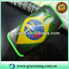 Double Protector Design Cover For Moto G 2014 World Cup Phone Case