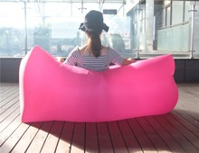 fast inflated folding sleeping air lounger inflatable couch
