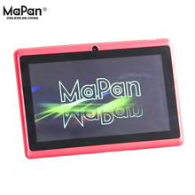Hot Mapan 7inch Quad-Core with WIFI BT4.0 multicolour tablet PC android 4.4 Adults and children Tablet PC