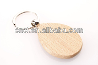 Cheap blank wood keyring