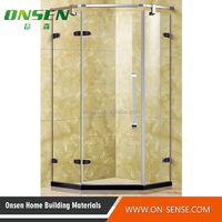 900*900 size stainless steel shower enclosure