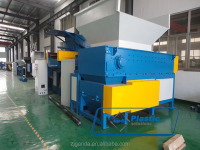 high capacity plastic single shaft shredding machine