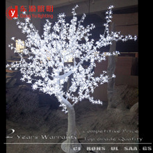 beautiful artificial white led cherry flower tree for indoor outdoor wedding decoration