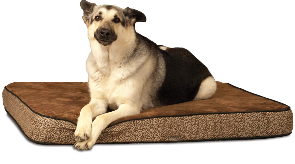 Square shape style dog sleeping bed memory foam pet bed