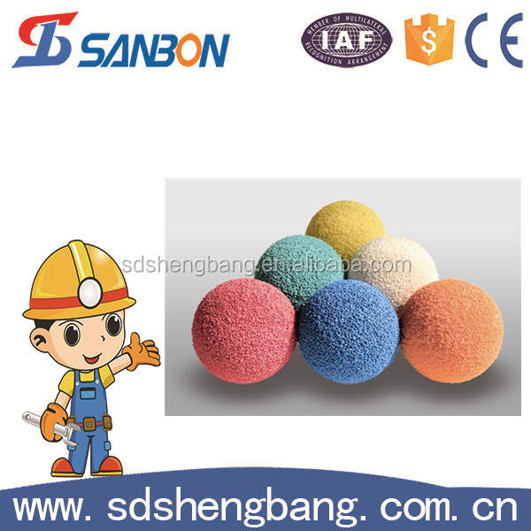 High Quality Rinse The Sponge Ball Concrete Pump Foam Rubber Cleaning Balls 125.150 Model Is Complete