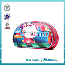 2017 Stationery EVA animal pencil case polyester zipper pen pouch for kids