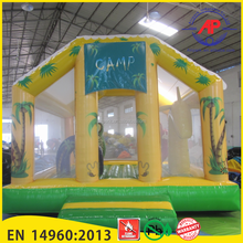 Inflatable Zoo Jumping Bouncer House for sale