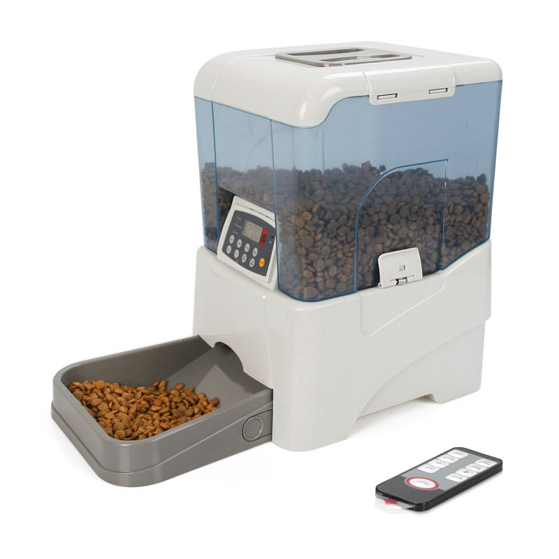 Large electric dog feeder