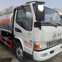 JAC mini fueling transport truck oil tanker truck for hot sale