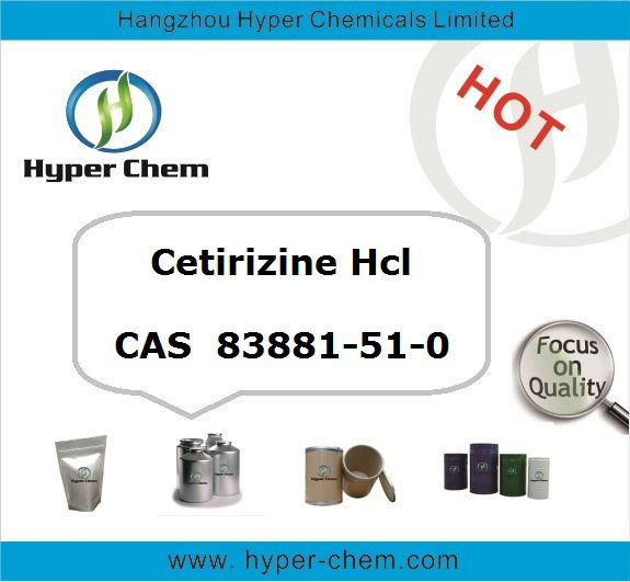 HP90523 High quality API CAS 83881-51-0 Cetirizine HCl