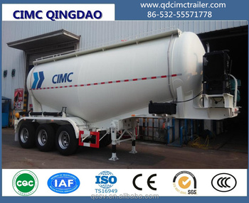 CIMC Original Manufacturer 35 m3 cement tanks trailer